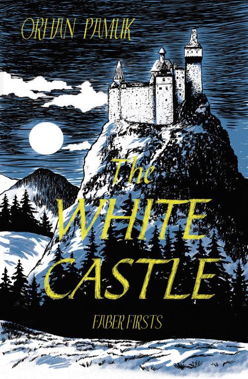 Ilustração de capa de livro do castelo branco