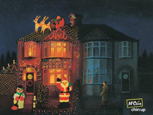 Decorative Christmas house
