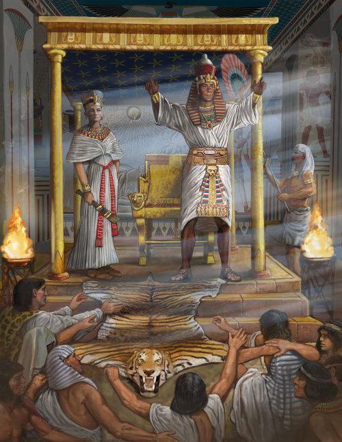 埃及陷入动荡的历史场景为所有关于历史杂志