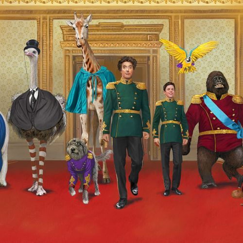 Characters design for Dr Dolittle film by Bob Venables