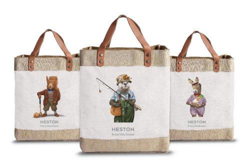 赫斯顿维特罗斯食品袋设计