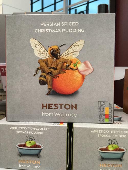 赫斯顿波斯香料圣诞布丁包装插图