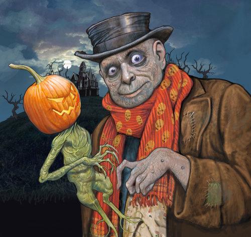 Monster portrait illustration