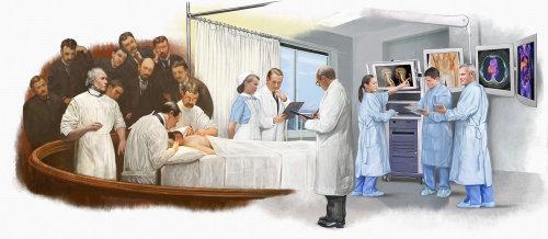 Medical Doctor illustration by Bob Venables