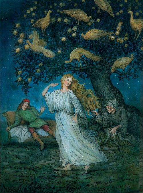 Fantasy fairy illustration by Bob Venables