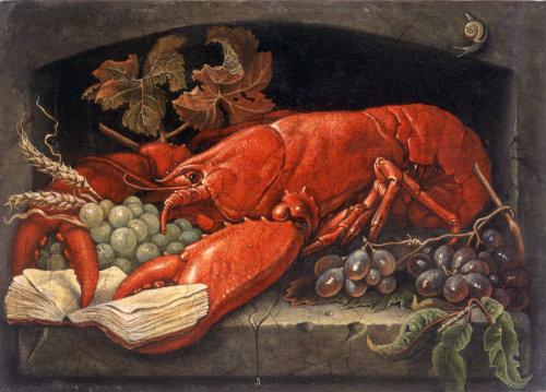Animal Lobster painting