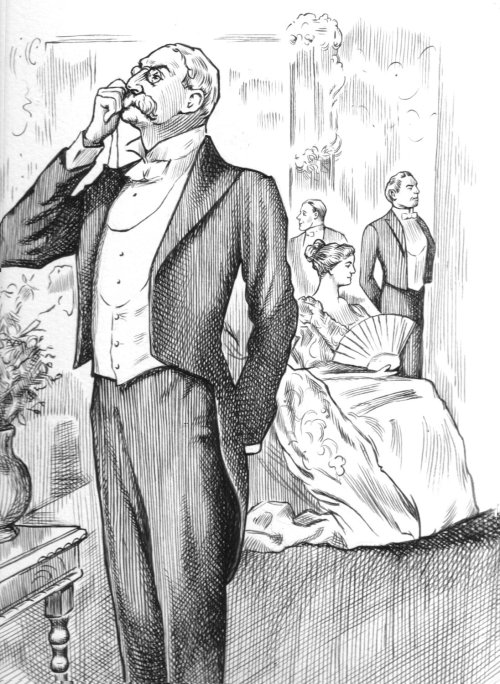 Vintage Gentleman illustration