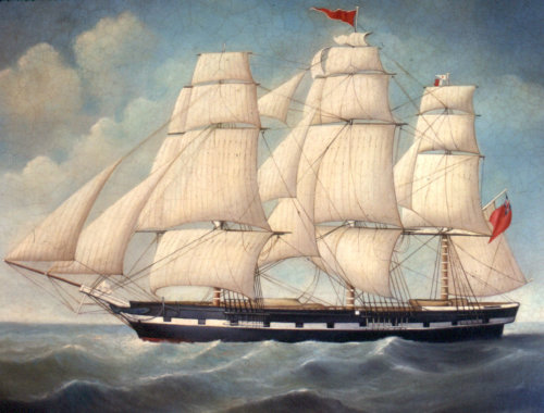 Galleon Ship Painting