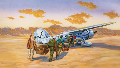 The Hunters of the Skies air transportation