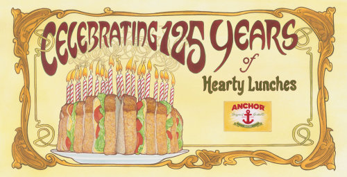 Celebrating 125 years of Anchor Original Butter advertising poster
