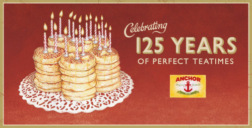 Celebrating 125 years of Anchor Original Butter poster art