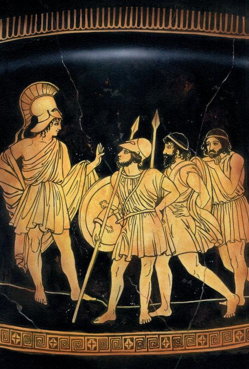 Ancient Greek pastiche illustration