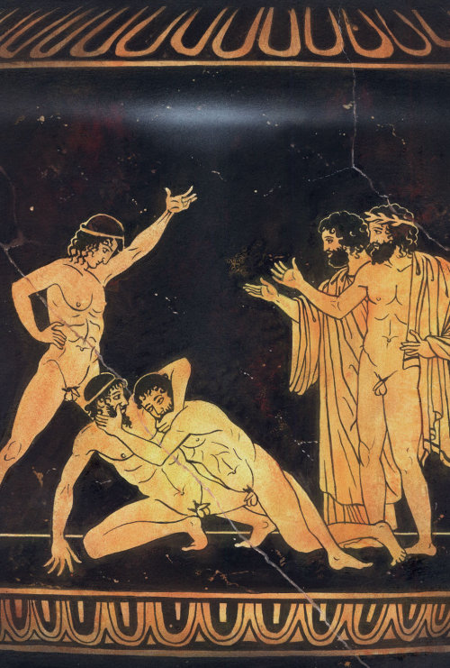 Historical painting ancient Greek