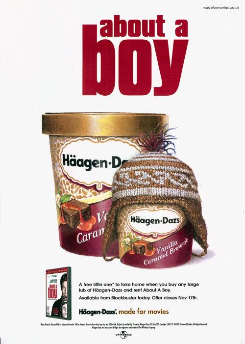 Packaging of Haagen-Dazs Vanilla Caramel Brownie