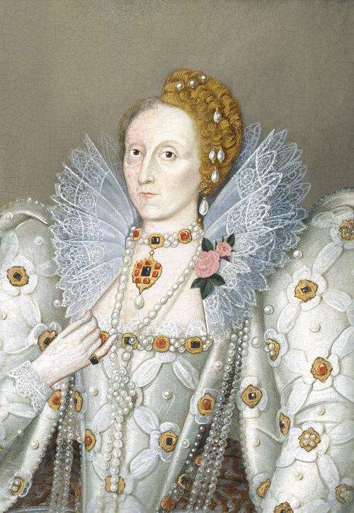 Makeover portrait of Elizabeth I