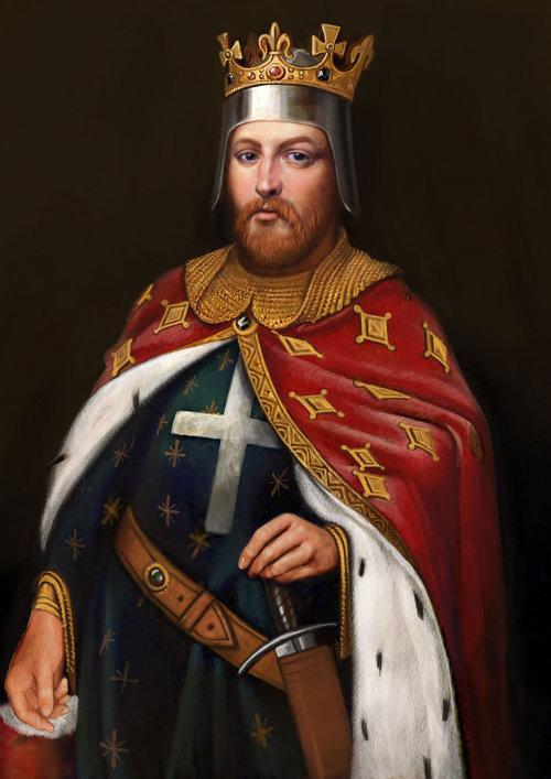 Portrait of Richard I, King of England