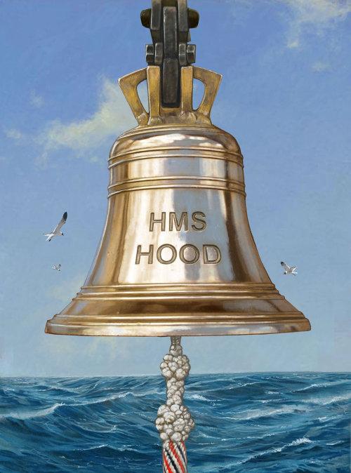 Historic HMS Hood's Bell