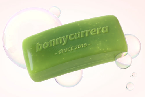 Photorealistic graphic design of soap