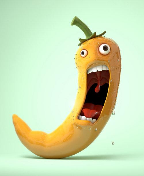 Ilustración de dibujos animados de plátano