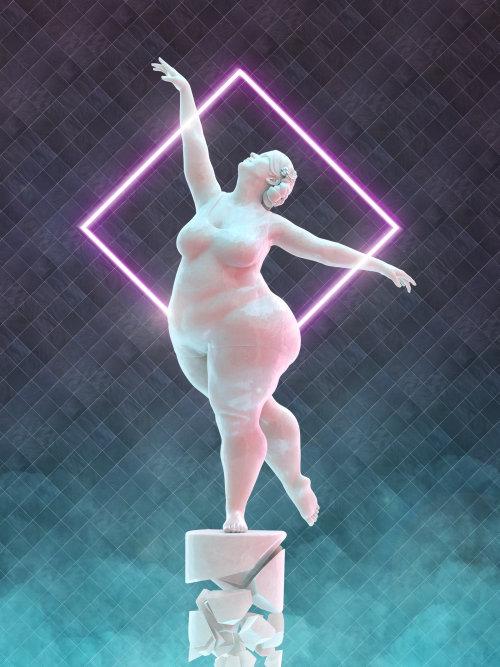 Arte de dibujos animados de bailarina