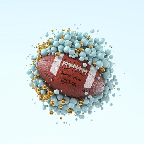 Graphic Football design