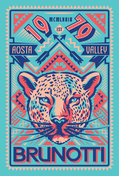 Poster design of Cheetah