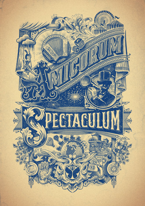 Tomorrowland Amicorum Spectaculum Poster