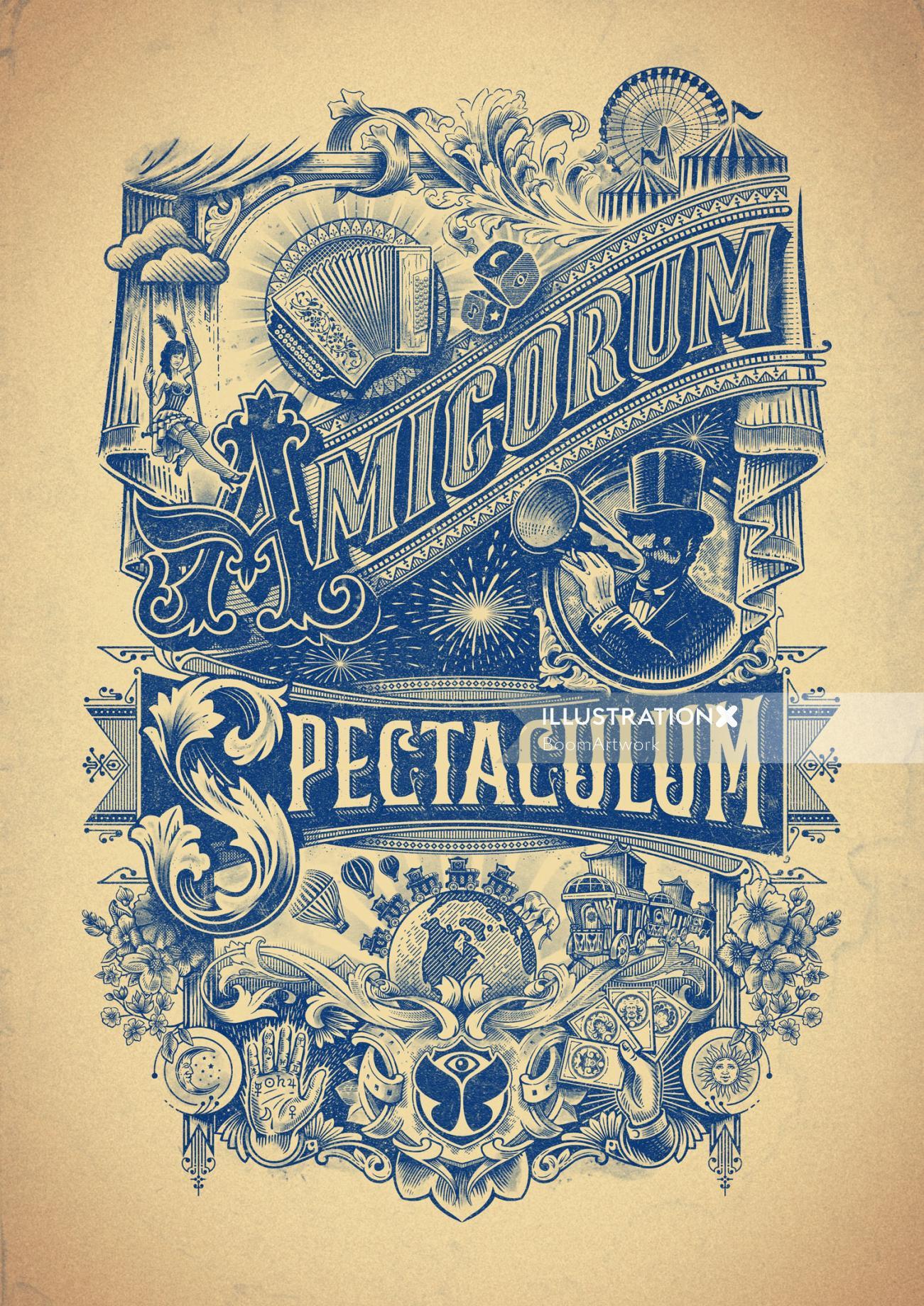 Tomorrowland Amicorum Spectaculum Poster