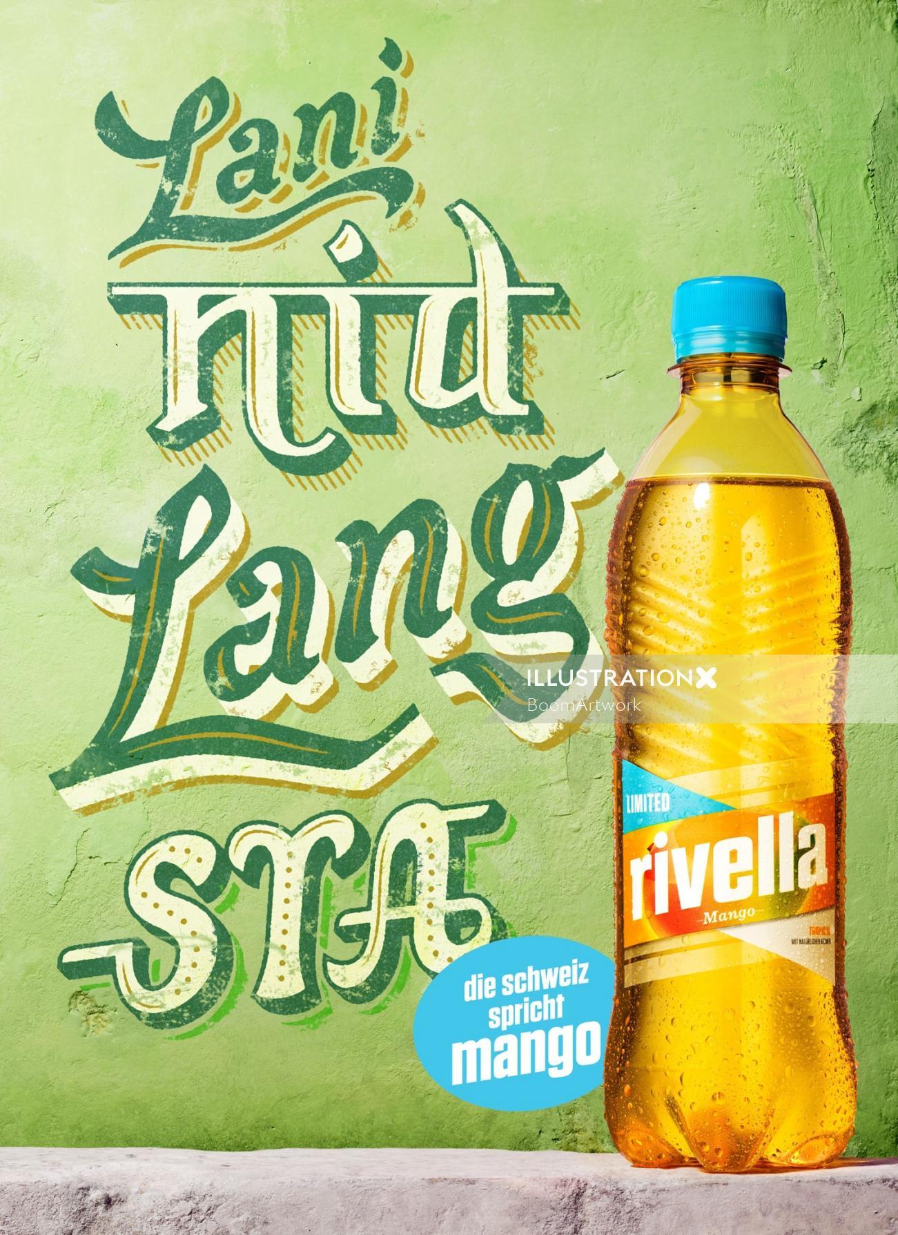 An Illustration For Rivella Mango