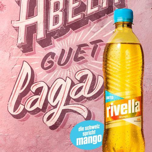 Rivella Mango Poster Art