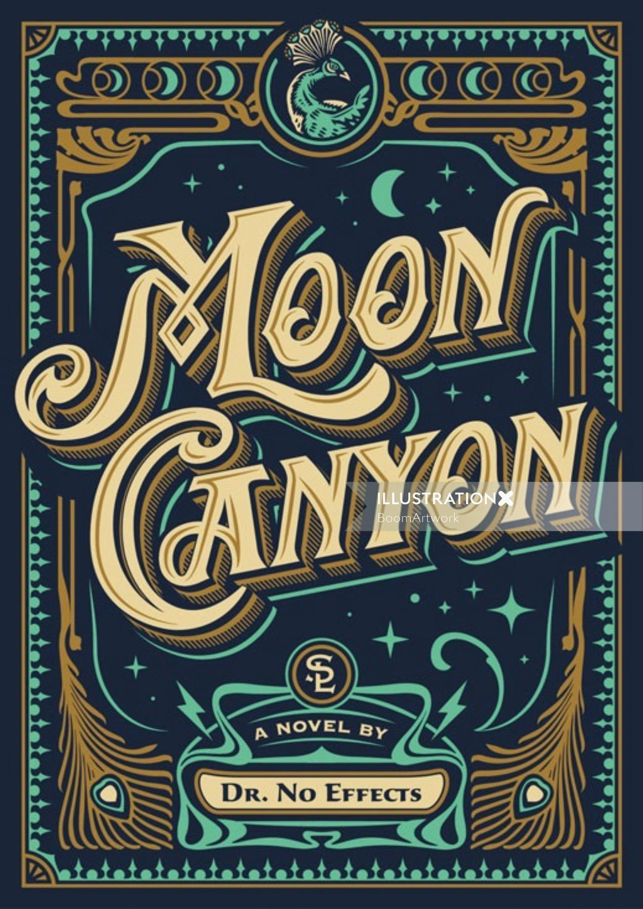Moon Canyon Book Cover Art