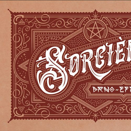 Lettering Sorciere