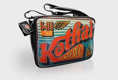 Typographic Artwork For Kothai Bag