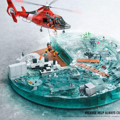 scene 3D illustration