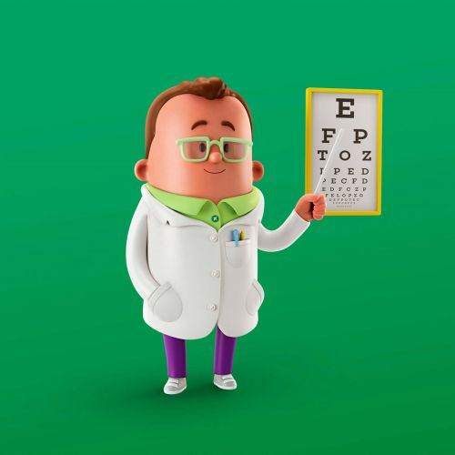 Animation specialist eye doctors
