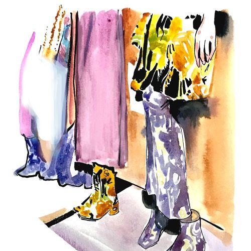 Fashion illustration By Briana Kranz