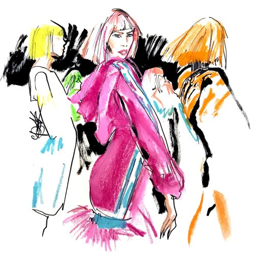Women fashion illustration
