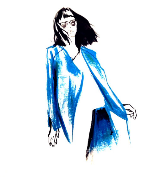 Fashion Lady Illustration By Briana Kranz