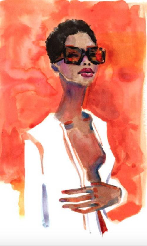 Desenho De Moda De Maria Borges