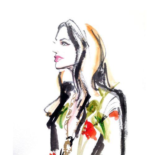 Beautiful Portrait Art By Briana Kranz