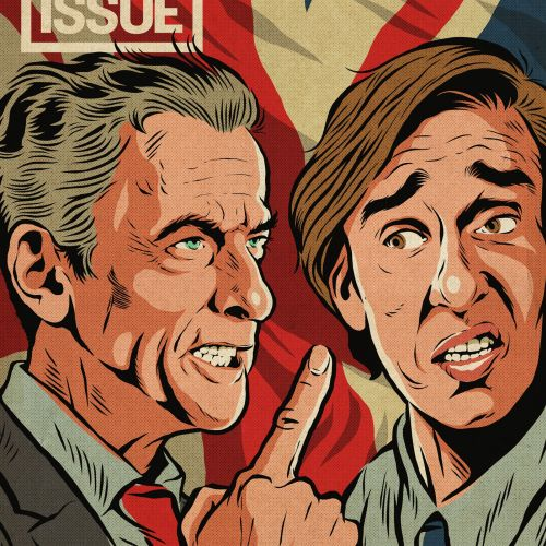 Cover illustration of peter capaldi & steve coogan
