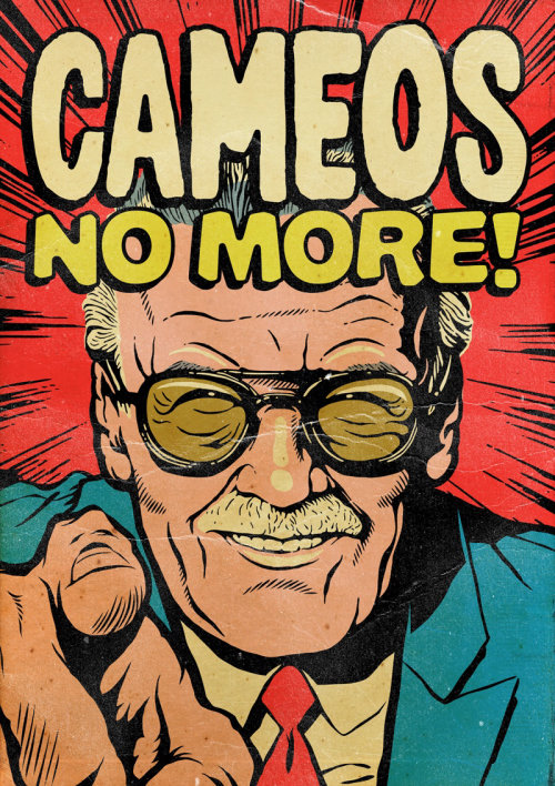 An illustration of Stan Lee: Cameos No More