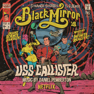 Black mirror series cover art by Butcher Billy