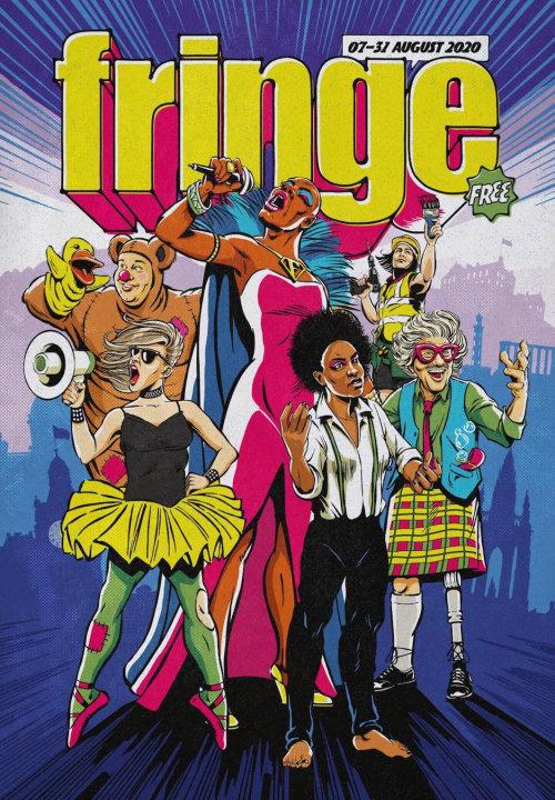 Fringe music poster