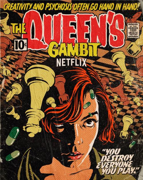 Comics The Queens Gambit