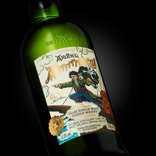 Graphic on Wine Bottle