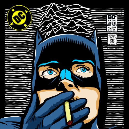 Pop culture illustration of Batman