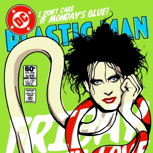 Plastic Man Pop Art
