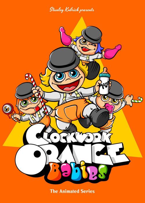 Clockwork Orange Bebés Diseño de Butcher Billy