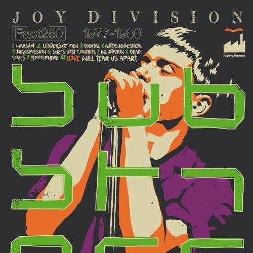 Music poster of Joy Division's Substance